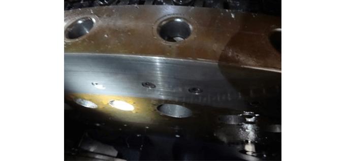 Slide oil protection