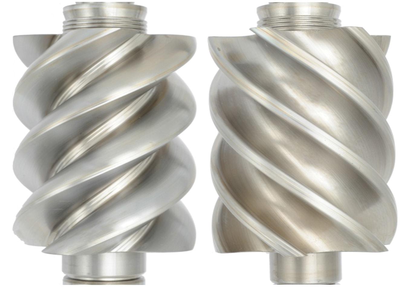 Clean rotary screw